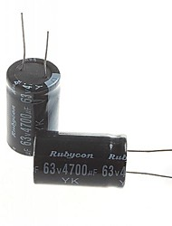 cheap -Electrolytic Capacitor 4700UF 63V (2pcs)