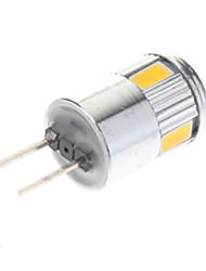 cheap -G4 LED Spotlight 6 SMD 5730 220 lm Warm White Cool White AC 12 V 10 pcs