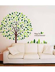 abordables -pegatinas de pared de pared Tatuajes, estilo felices del árbol pegatinas de pared del pvc