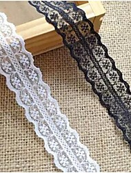 "1""DIY Flower Weaving Border Craft Lace Ribbon (2 Yards)"