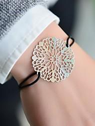 Недорогие -модные женщины вырезали штамповки эластичной браслет