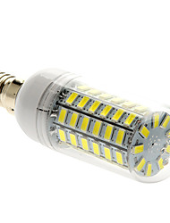 Недорогие -5 Вт. 450 lm E14 LED лампы типа Корн T 69 светодиоды SMD 5730 Естественный белый AC 220-240V