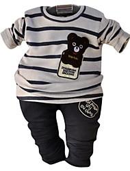 Boy Jaro / Podzim Směs bavlny Sady oblečení