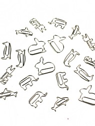 cheap -Creative Small Animals Paper Clip Shape 16 PCS Random Style