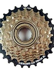 ovest biking® ciclismo 7 marce cassette bici ruota libera 14-28 dente freno cassette bici bicicletta a ruota libera