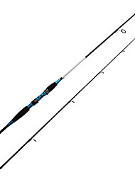 Fishing Rod Spinning Rod Carbon 198/210 cm Sea Fishing Spinning 2 sections Rod Medium Light (ML)