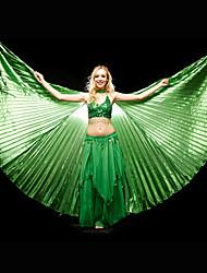 Žene - Rekviziti - za Trbušni ples / Seksi blagdanski kostimi (Zelen / Crvena / Royal Plava / žuta , Polyester