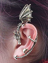 cheap -Women's Ear Cuff - Vintage, Fashion Silver / Brown For Daily