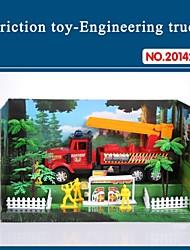 Недорогие -Высокое качество Игрушка для детей трения грузовика набор с инструментами пожаротушения тематических 20142-8