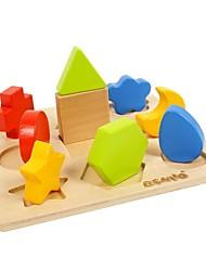 Недорогие -benho Брич дерево форма фанера сортировщик платы ⅰ деревянная игрушка