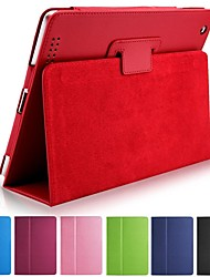 New Classical PU Leather Full Body Case Cover Pouch Stand For iPad 4/3/2