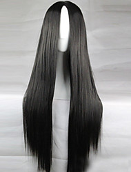 cheap -Synthetic Hair Wigs Straight Black Wig Long Black Party