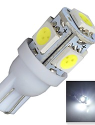 cheap -Car Light Bulbs 0.68W SMD 5050 60LM 5 License Plate Light / Instrument Light