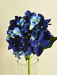 hyfrangeas safira flores artificiais set 2