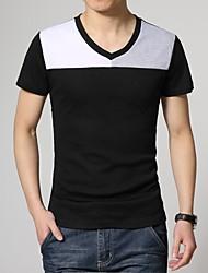 preiswerte -Herrn Einfarbig-Schick & Modern T-shirt Sportlich