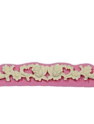 кружева sugarpaste формы для украшения торта и цветочного торта силикона формы