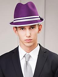Недорогие -мужская вечеринка / вечерний каузальный жених / шерстяной головной убор-случайные шляпы