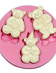 Teddy Bear Silicone Cake&Chocolate Mold Cake Mold,Baking Tool