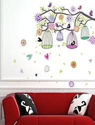 economico -Animali Forma Cartoni animati Adesivi murali Adesivi murali animali Adesivi decorativi da parete, Vinile Decorazioni per la casa Sticker