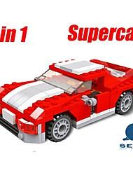 Недорогие -Дети образовательные обучающие игрушки строительные блоки гоночные автомобили смешная игрушка