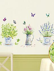 Недорогие -окружающей среды съемный бабочка и вазы из пвх метки&наклейка