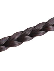 Недорогие -20 дюймы 22 дюймы Комбинация материалов Наращивание волос Классика плетение волос Повседневные Высокое качество