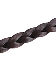 Недорогие -Чёлки Волосы Классика Комбинация материалов 20 дюймы 22 дюймы Наращивание волос плетение волос Повседневные
