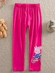 abordables -Pantalons Coton Eté Violet Rose