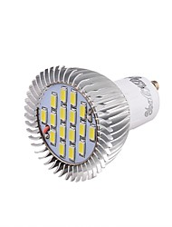 GU10 Faretti LED 16 SMD 5630 650 lm Luce fredda 6000 K Decorativo V