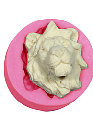 cheap -Cake Decorating Lions Mold Silicone Lions Head Mould For Fondant Candy Crafts Jewelry Chocolate PMC Resin Clay