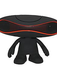 mini rugby ultra portatile diffusore da scaffale senza fili bluetooth hi-fi per tf usb aux per un tablet pc iPhone6 / 6plus