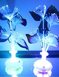 cheap -Fiber Colorful Calla Lily Flower LED Night Light