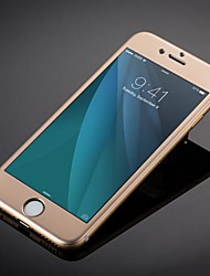 aleación de titanio de moda de lujo de vidrio templado cobertura total protector de pantalla para iPhone 6s más / 6 más
