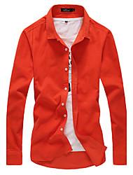 economico -MEN - Camicie casual - Bodycon Cotone