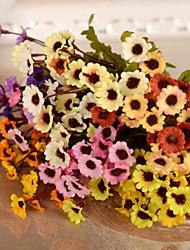 Afdeling Silke Plastik Krysantemum Bordblomst Kunstige blomster
