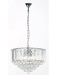 Modern Acrylic Crystal Style Chandelier , 5 Lights