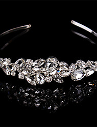 cheap -Women Sterling Silver/Crystal Headbands With Wedding/Party Headpiece