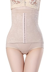 Women's Briefs High Waist Abdomen Drawing Briefs Postpartum Hips Lifting Slimming Body Shaper Pants
