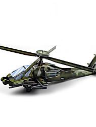 Недорогие -DIY вертолет форме 3d головоломки