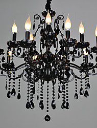 cheap -Chandeliers Crystal Traditional/Classic Living Room Crystal,15 Light
