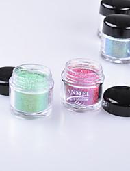 abordables -12 Paleta de Sombras de Ojos Mate / Brillo Paleta de sombra de ojos Polvo Normal Maquillaje de Fiesta