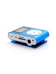 Недорогие -8g mp3 мини lettore клип USB LCD экран перезаряжаемые радио-плеер