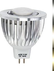 450-680 lm Lâmpadas de Foco de LED MR16 1led leds COB Branco Quente Branco Frio AC 12V DC 12V