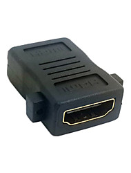 HDMI Female To HDMI 1.4 Female Extension Converter Adapter with Panel Mount Holes