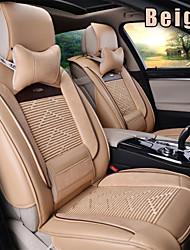 abordables -Cojines para asiento de coche Cojines de asiento Cuero de PU Para Universal 2015