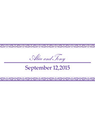 baratos -decoração do casamento bandeira personalizada --- desejo roxo