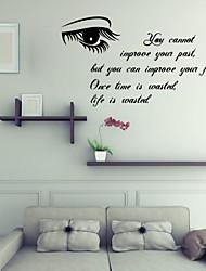 Недорогие -стикеры стены наклейки для стен английские слова&цитирует наклейки стены PVC