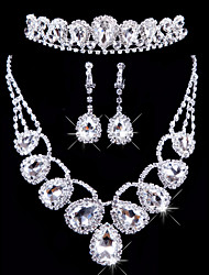 cheap -Women's Others Jewelry Set Earrings / Necklace / Tiaras - Regular For Wedding / Party / Special Occasion