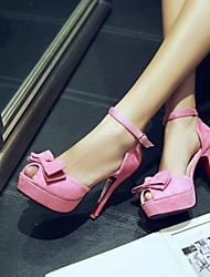 cheap -Women's Shoes Stiletto Heel Peep Toe Sandals Dress Shoes More Colors Available