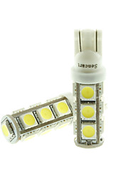 cheap -T10  149  W5W LED 3.5W  Blue/Red/Warm White/Green/Yellow/White 13X5050SMD 140LM   for Car Light Bulb  (DC12-16V)
